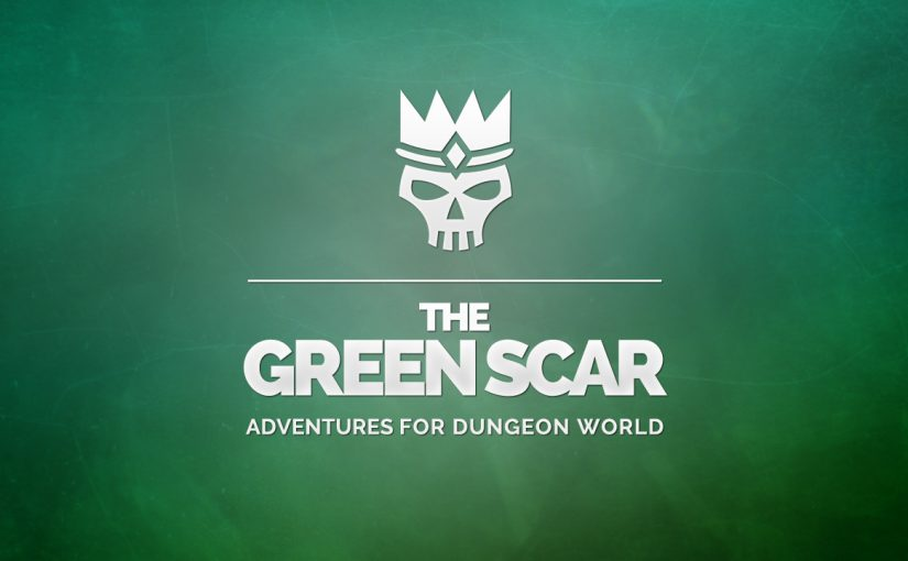 The Green Scar now available on DTRPG