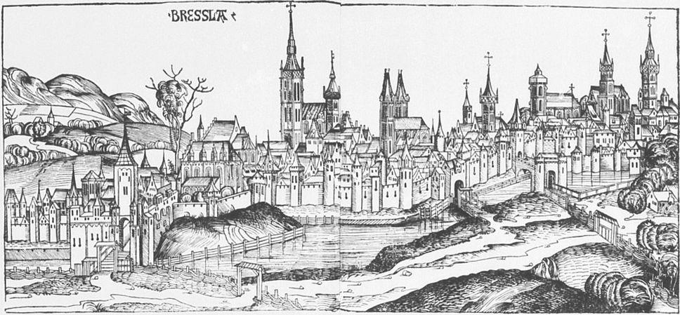 Bresslau-Wroclaw.Nuremburg